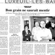 """""""Bon grain ne saurait mentir"""" L'Est Républicain 19/11/2007"""