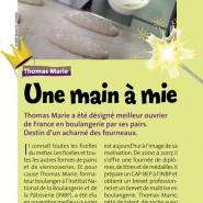 """""""Une main à mie"""" Rouen Mag 04/12/2007"""