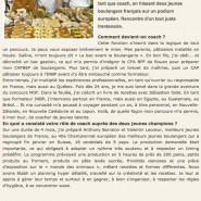 """""""Thomas Marie : de MOF à coach"""" Les Nouvelles de la boulangerie pâtisserie 15/02/2011"""