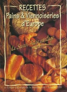 Recettes Pains et Viennoiseries d'Europe