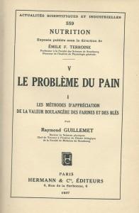 Le Problème du Pain - Tome I -