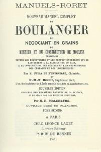 Nouveau manuel complet du boulanger du négociant en grains du meunier et du constructeur de moulins, Tome II