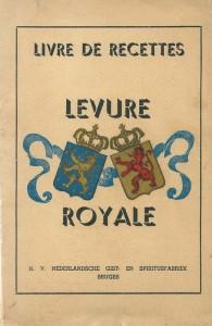 Livre de recettes Levure Royale