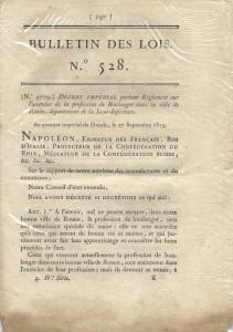 Bulletin des lois N°528