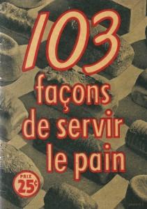 103 façons de servir le pain