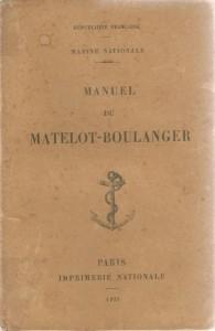 Manuel du matelot-boulanger