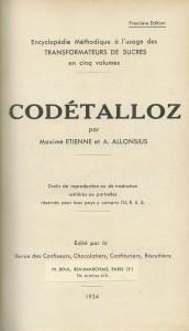 Codétalloz. Tome II. Législation, réglementation, jurisprudence