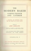 The modern baker confectioner and caterer Vol. II