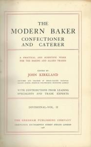 The modern baker confectioner and caterer Vol. II