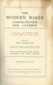 The modern baker confectioner and caterer Vol. III