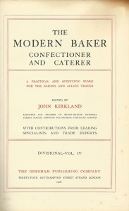 The modern baker confectioner and caterer Vol. IV