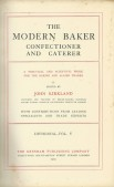 The modern baker confectioner and caterer Vol. V