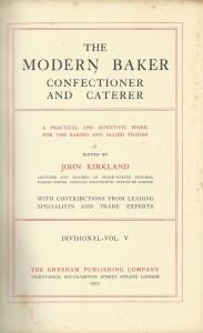 The modern baker confectioner and caterer Vol. V