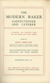 The modern baker confectioner and caterer Vol. VI
