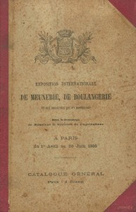 Exposition internationale de meunerie, de boulangerie et des industries qui s'y rapportent