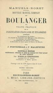 Nouveau manuel complet du boulanger, ou traité pratique de la panification française et étrangère, Tome II, Encyclopédie-Roret